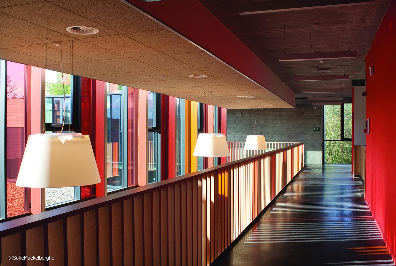 IRS Studiebureau voerde berekeningen stabiliteit en gebouwtechnieken uit voor Muziekacademie Ninove