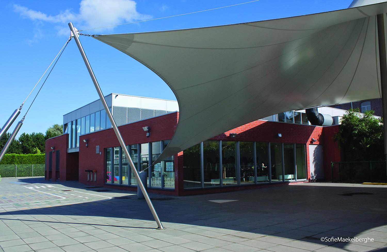 Toverveld Herent gebouw