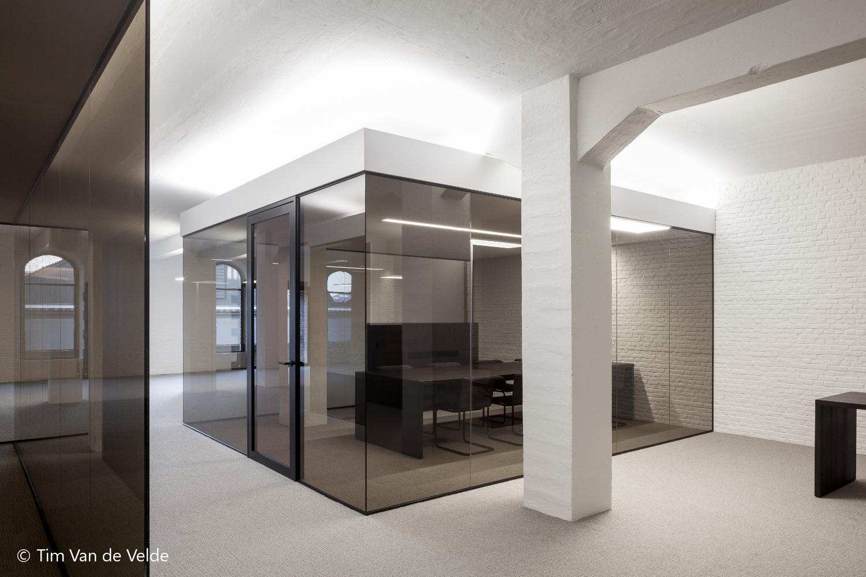 de zetel van de Orde van Architecten, Tour & Taxi's, Brussel