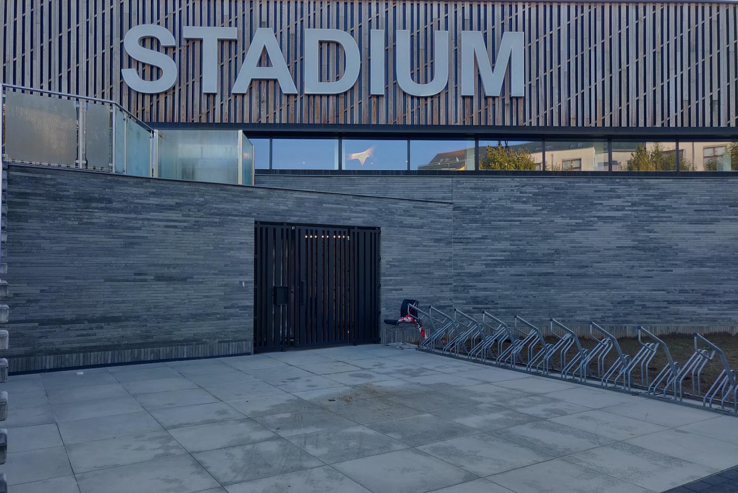 IRS Studiebureau voerde studies stabiliteit en technieken uit voor Stadium 1 te Brussel, Molenbeek