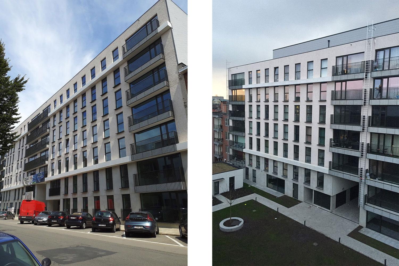 Ten Wyngaerde - Antwerpen - Lange Lozannestraat - Voor en achtergevel