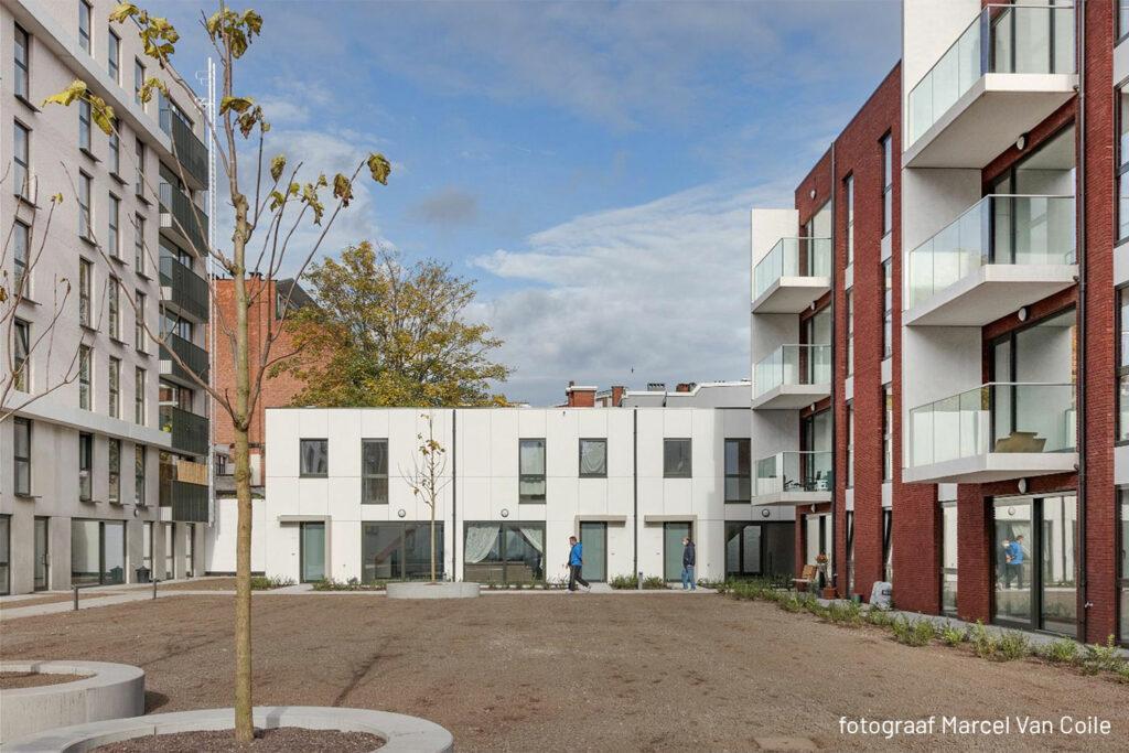 Ten Wyngaerde - Antwerpen - Lange Lozannestraat - Binnenplein