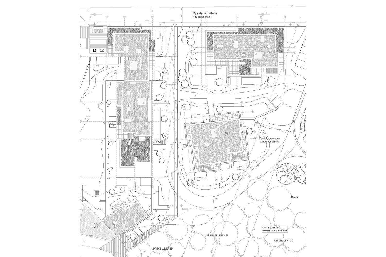 Plan Laiterie Anderlecht